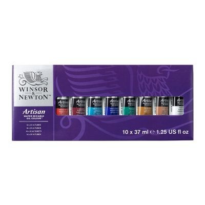 Artisan Water Mixable Oils10 x37ml Tube Set